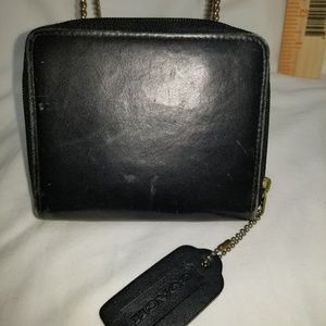 B8,494 Coach Black Leather Wallet